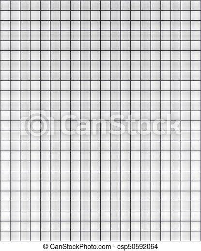 Coordonnée Papier Millimétré Carré Grille