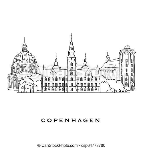 Copenhagen Denmark famous architecture