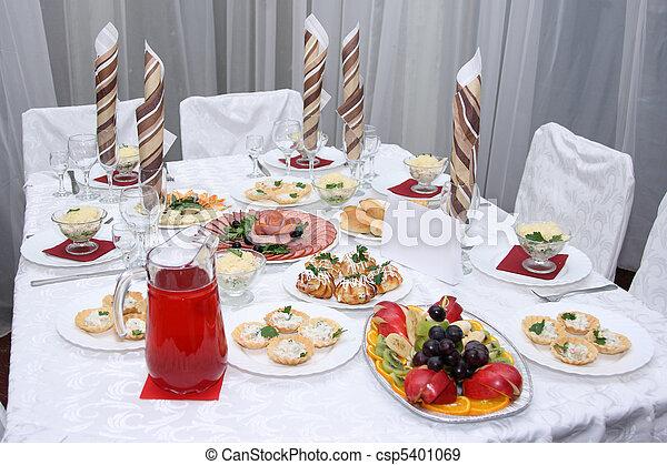 coperto, tavola - csp5401069
