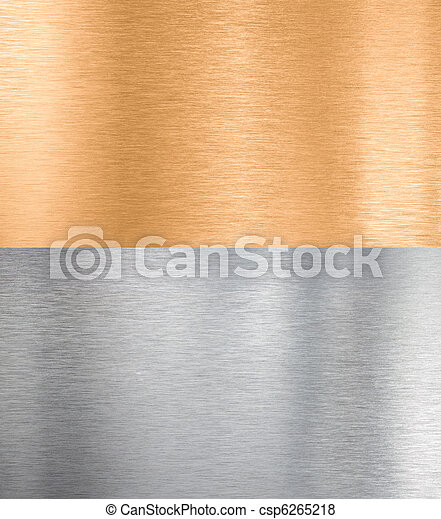 copper and silver metal textures - csp6265218