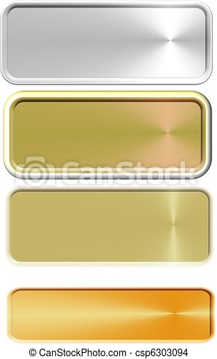 copper brass and bronze name plates - csp6303094