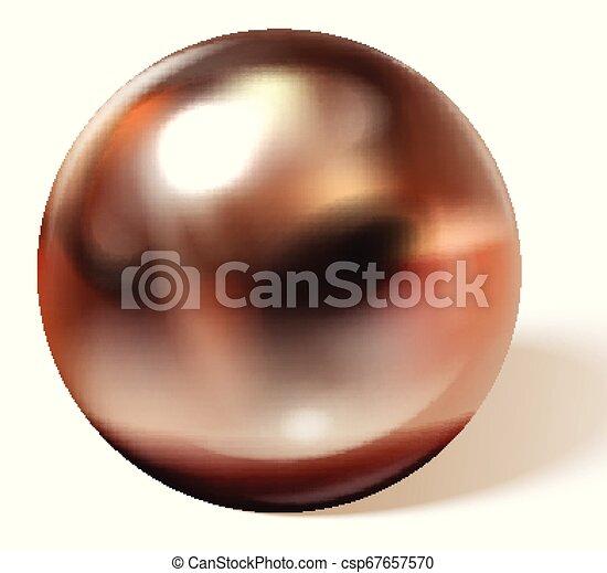 Copper or brass ball - csp67657570