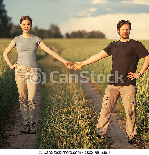 coppia, giovane - csp20985390