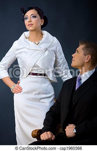 coppia, moda - csp1960366