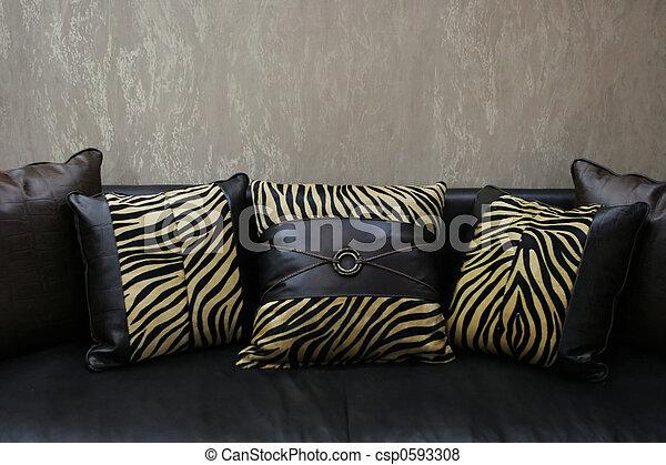 Cuscini Moderni Divano.Copy Cuoio Space Interiors Moderno Divano Leopardo Cuscini Pelle Casa