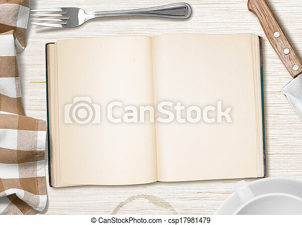 copybook cuisine recette livre fond table ouvert ou image recherchez photos clipart. Black Bedroom Furniture Sets. Home Design Ideas
