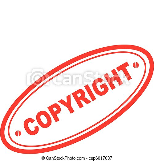 copyright word stamp3 - csp6017037