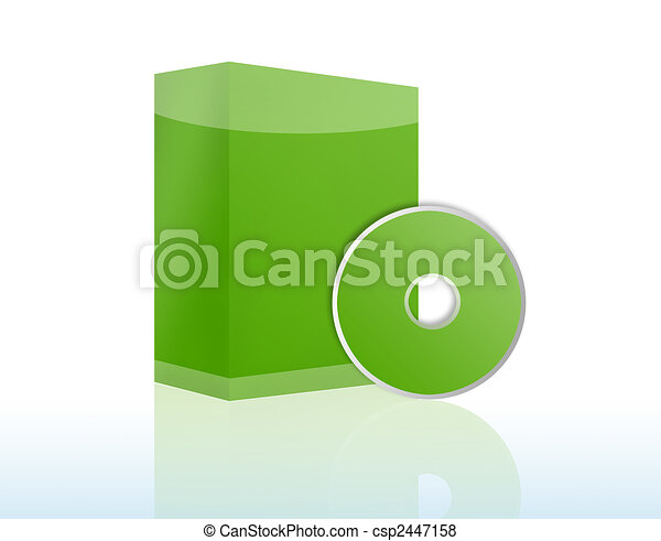 Copyspace Software Box with CD - csp2447158