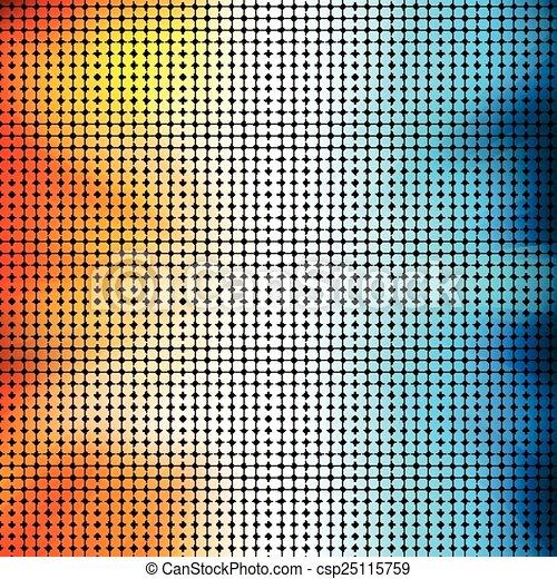 cor, coloridos, abstratos, vetorial, círculo, experiência. - csp25115759