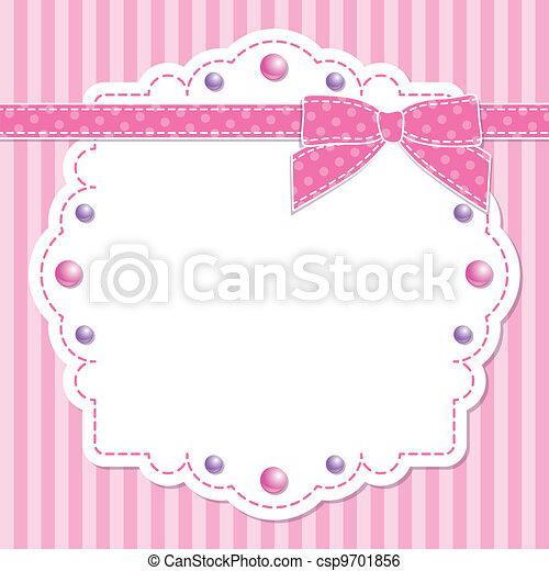 cor-de-rosa, quadro, arco - csp9701856