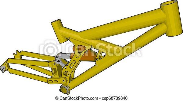 cor, ilustração, máquina, vetorial, hidráulico, ou - csp68739840