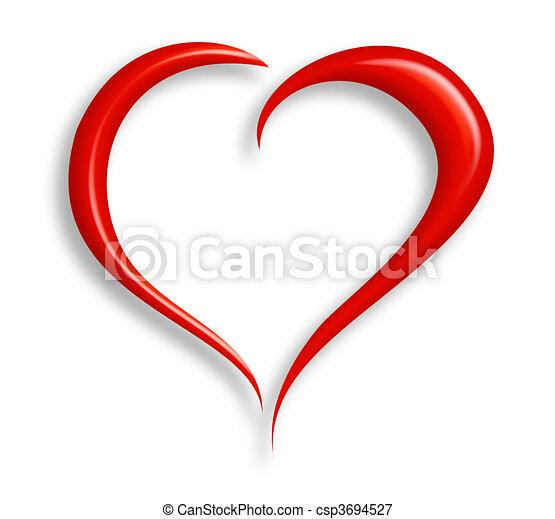 coração, amor - csp3694527