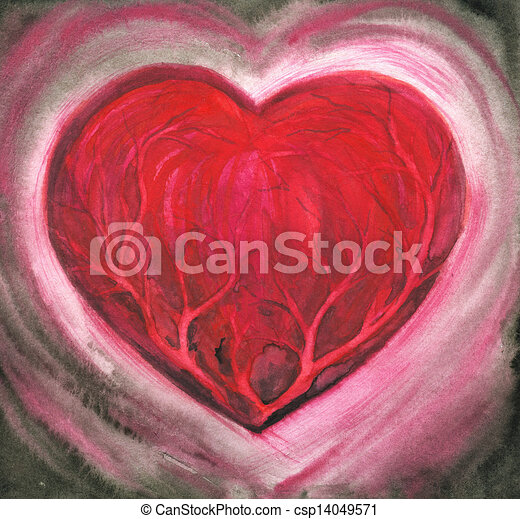 coração - csp14049571