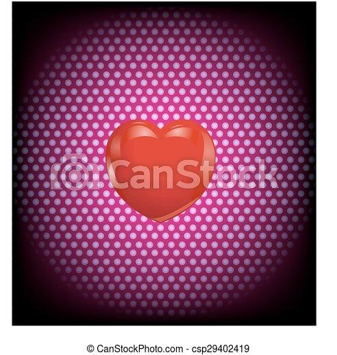coração - csp29402419