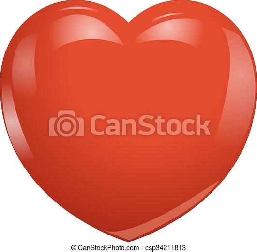 coração - csp34211813