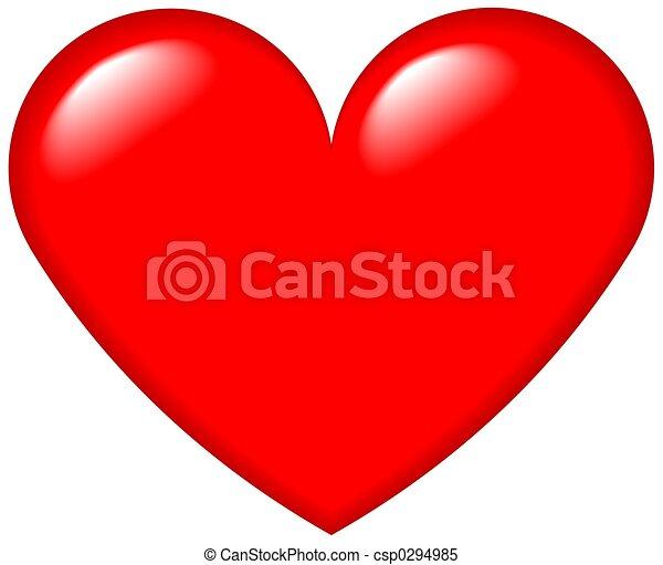 coração, gráfico, 4 - csp0294985
