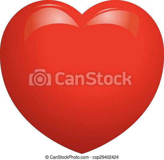 coração - csp29402424