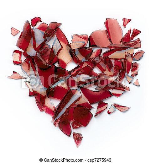 coração quebrado - csp7275943