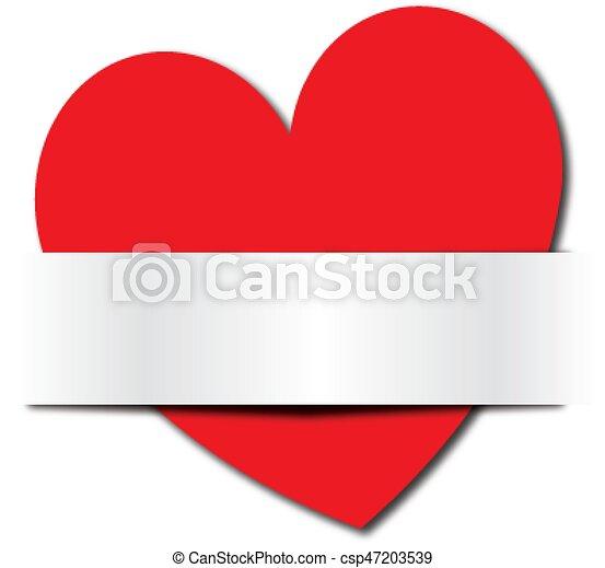 coração, vermelho - csp47203539