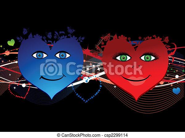 corações, valentine - csp2299114