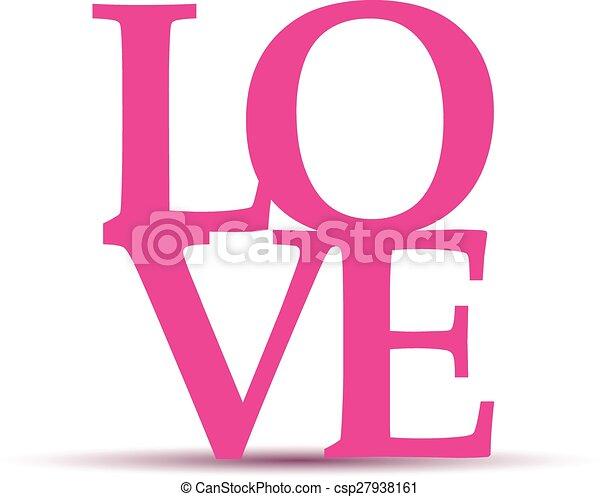 Un mensaje de amor - csp27938161