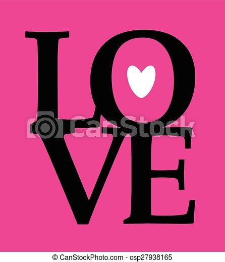 Un mensaje de amor - csp27938165