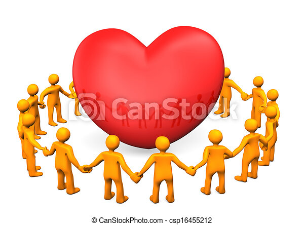El clan del corazón rojo - csp16455212
