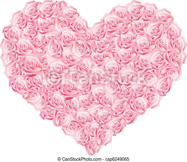 Un corazón - csp6249065
