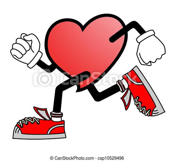 El corazón corre - csp10529496