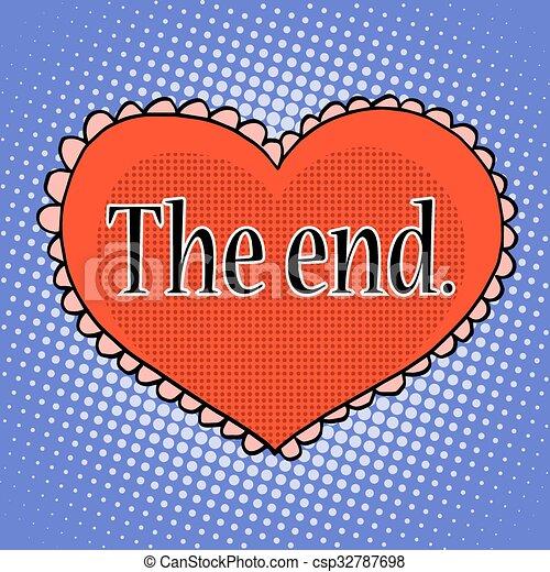 Resultado de imagen para fin del amor