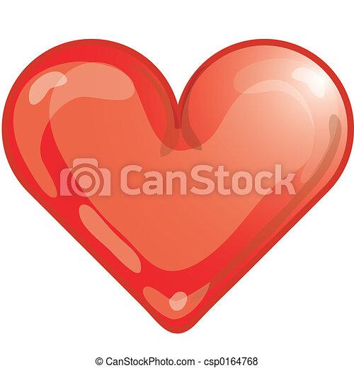 corazón, icono - csp0164768