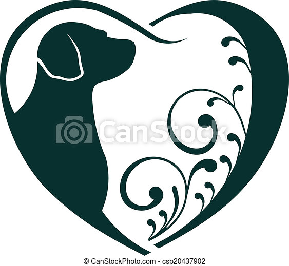 Amor de perro veterinario. - csp20437902