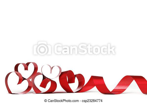 corazón, marco, valentine - csp23284774