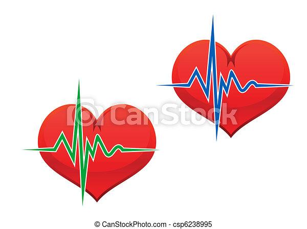 corazón, pulso - csp6238995