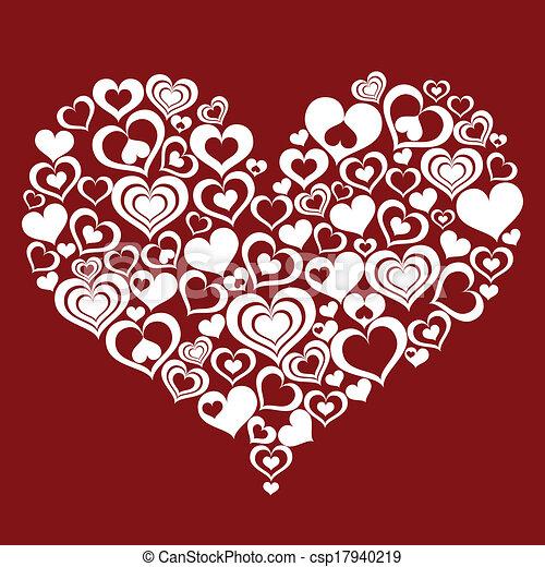 Corazón Resumen Hecho Corazones Corazón Hecho Resumen