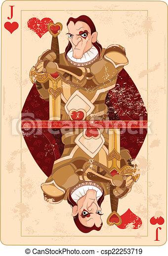 Jack de corazones - csp22253719