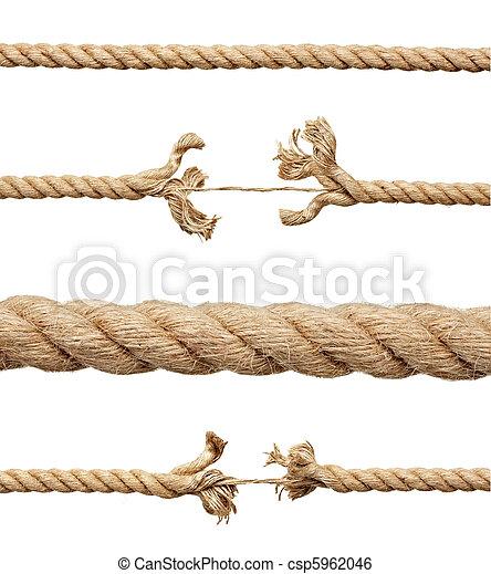 corda, danificado, cadeia, risco - csp5962046