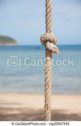 corda, mar, nó - csp20547545