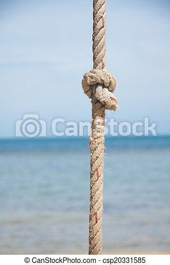 corda, mar, nó - csp20331585