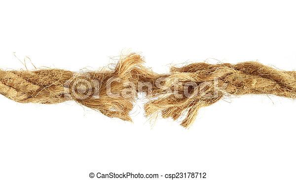 corda, rasgado - csp23178712