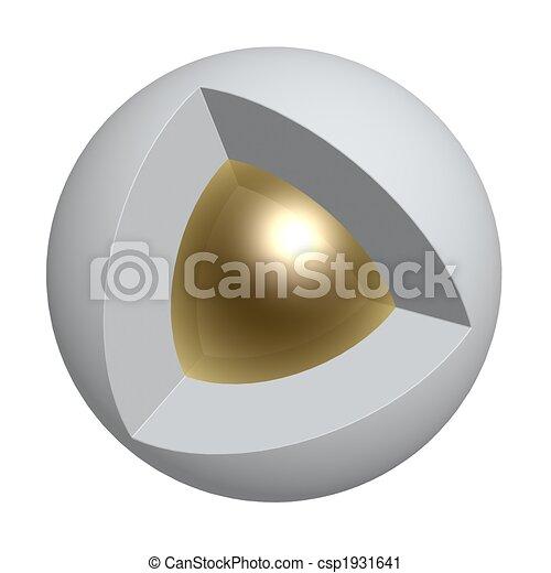 core of sphere - csp1931641