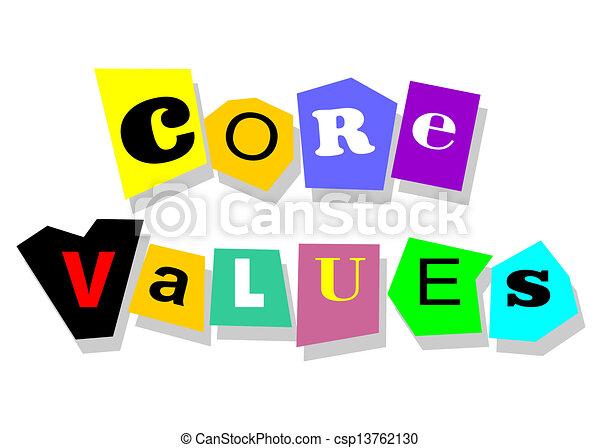 Core values - csp13762130