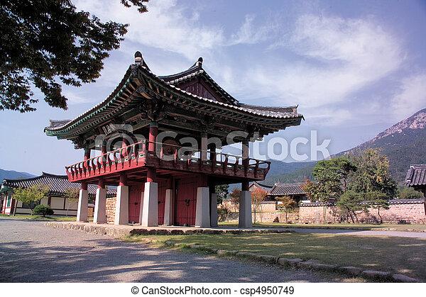 Tradición coreana - csp4950749