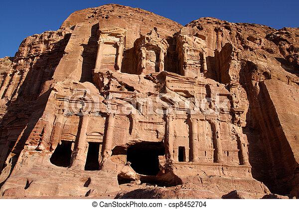 Corinthian Tomb - csp8452704