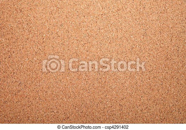 Cork board as textured background or backdrop. - csp4291402