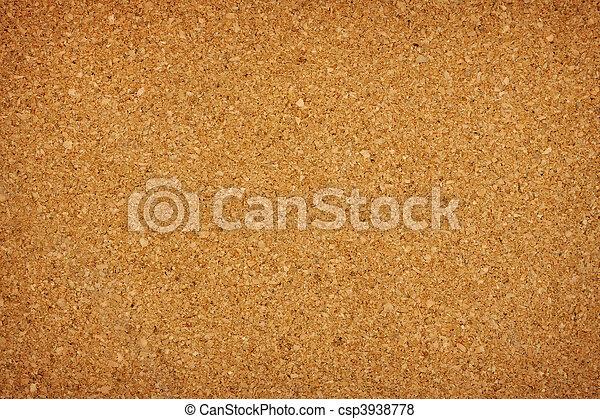 Cork board - csp3938778