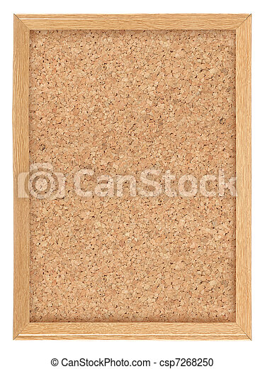 Cork board - csp7268250