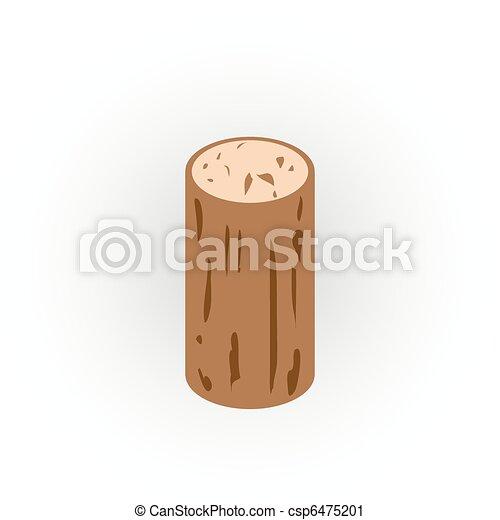 cork icon - csp6475201
