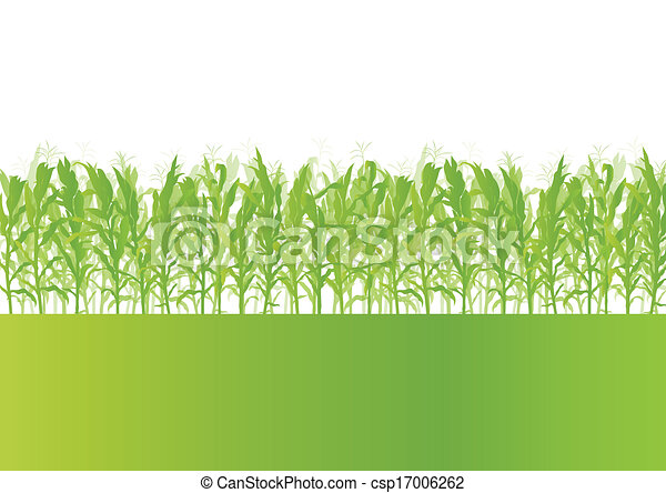 corn field detailed countryside landscape ecology clip art vector rh canstockphoto com cornfield clipart free cornfield silhouette clipart