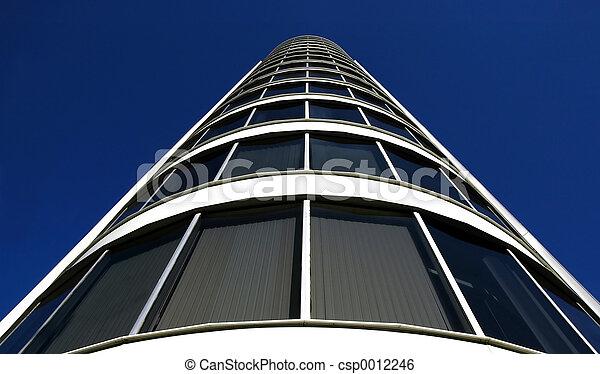 Corner of Building - csp0012246